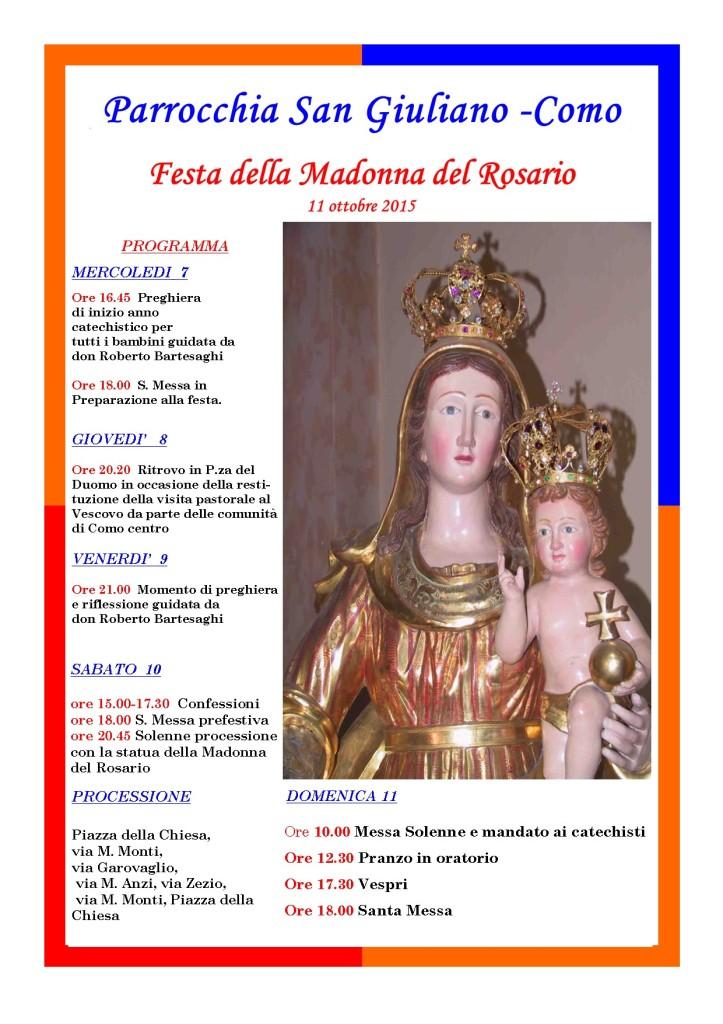 manifesto madonna A4