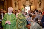 Como visita del Vescovo Diego COletti alla parrocchia di San Giuliano